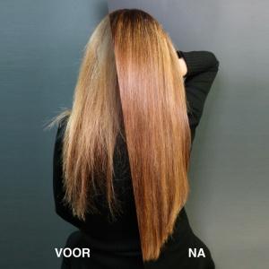 Hairextensions, Haarextensions laten zetten